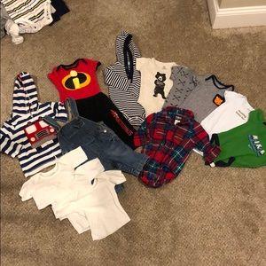 Baby Boy 3-6mo. / 6 mo. clothing lot
